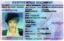 Personal Identification Card